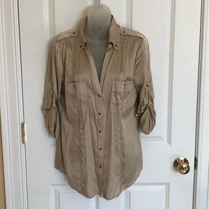 WHBM Silk blouse.